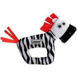 B&W Chrastítko zebra