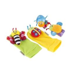 Chrastící ponožky a náramky