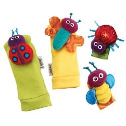 Chrastící ponožky a náramky nové