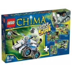 LEGO 66491 Chima 5v1