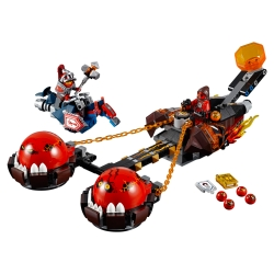 LEGO 70314 Krotitelův vůz chaosu